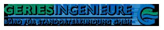 Willkommen bei der Geries Ingenieure GmbH Logo