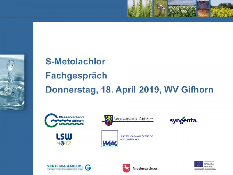 Metolachlor-Fachgespräch LK Gifhorn